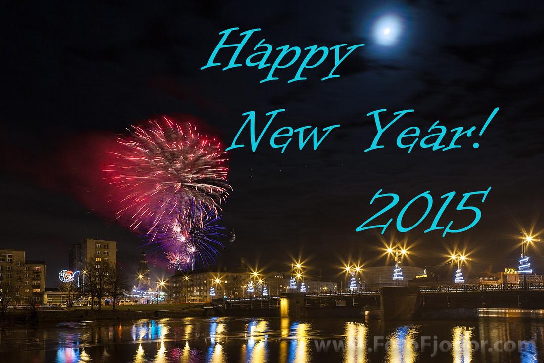 Liepaja New Year's Eve Fireworks Show 2015