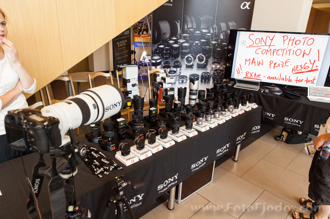 Sony photo contest while Art Camp 2013