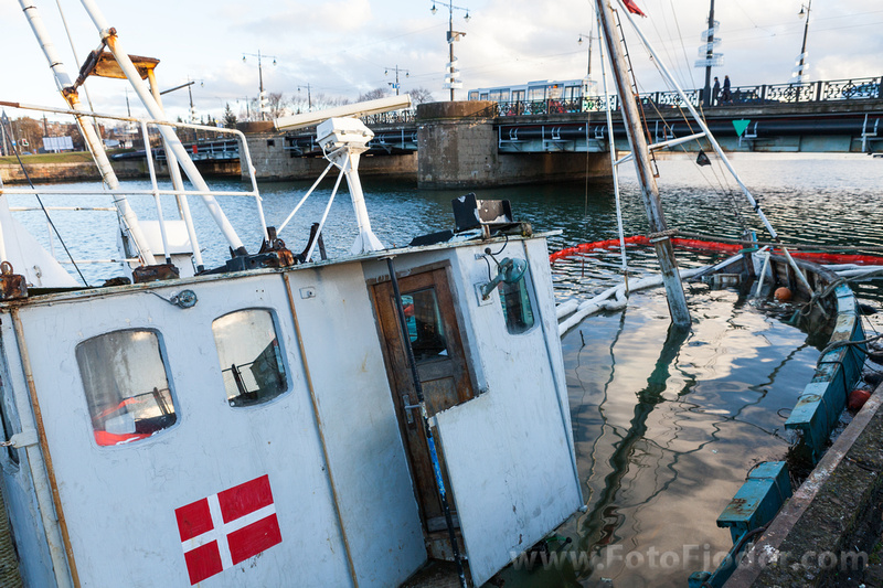 Louie Fontaine  drown ship in Liepaja Trade channel