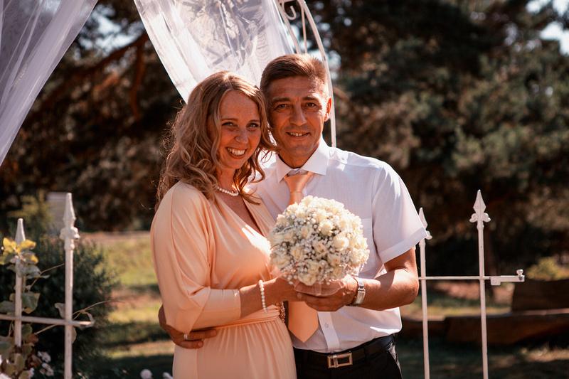 Silver Wedding Anniversary in Liepaja, Latvia